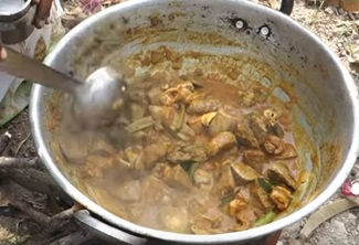Amazing Taste Goat LUNGS and LIVER Recipe | VILLAGE FOOD