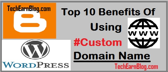 benefits of using custom domain on blog