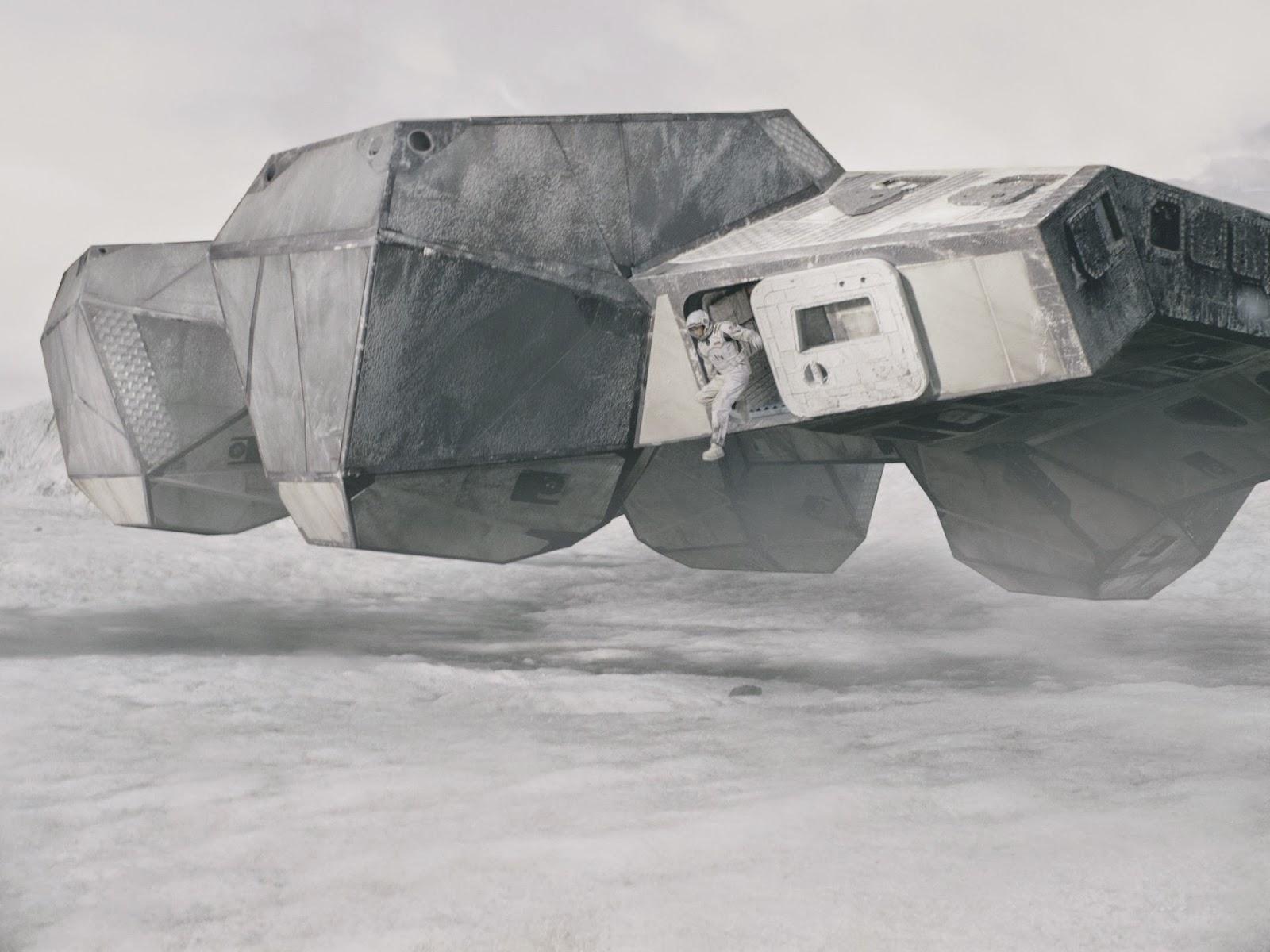 Interstellar Movie Spaceship Teaser Trailer