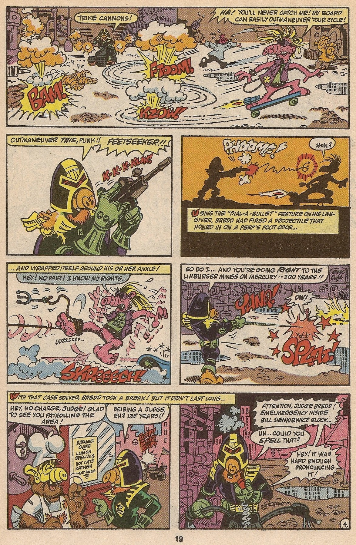 Read online ALF comic -  Issue #35 - 20