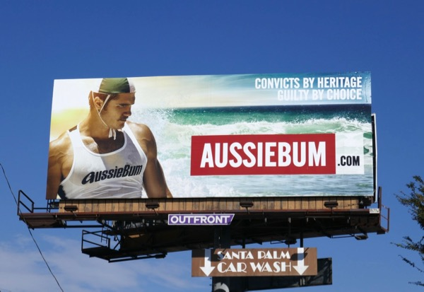 AussieBum Convicts by heritage billboard