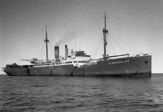 El barco alemán MS Schwabenland