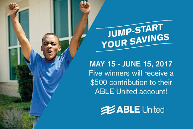 ABLEunited giveaway