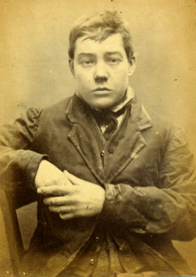 old portraits of criminals in newcastle city gaol from