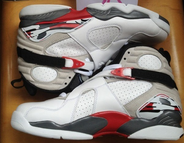 "outlet store 8793b 59f68 ... April 20th, 2013 at select Jordan Brand accounts. One question, who s  copping  Air Jordan 8 Retro ""Bugs Bunny"" White Black-True Red 305381-103"