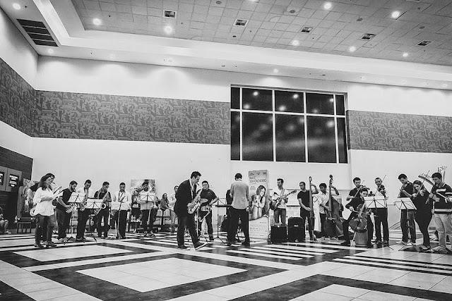 Pedido de Casamento no Shopping com orquestra