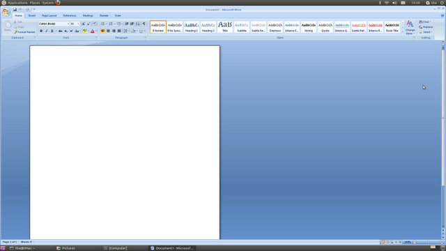 Install Microsoft Office 2007 in Ubuntu 11 10