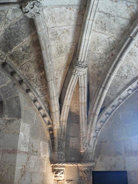 Volta della cappella nella Torre di belém