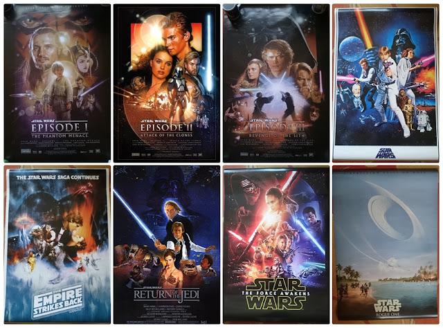 [Recenzja] Oficjalne plakaty wszystkich filmów Star Wars