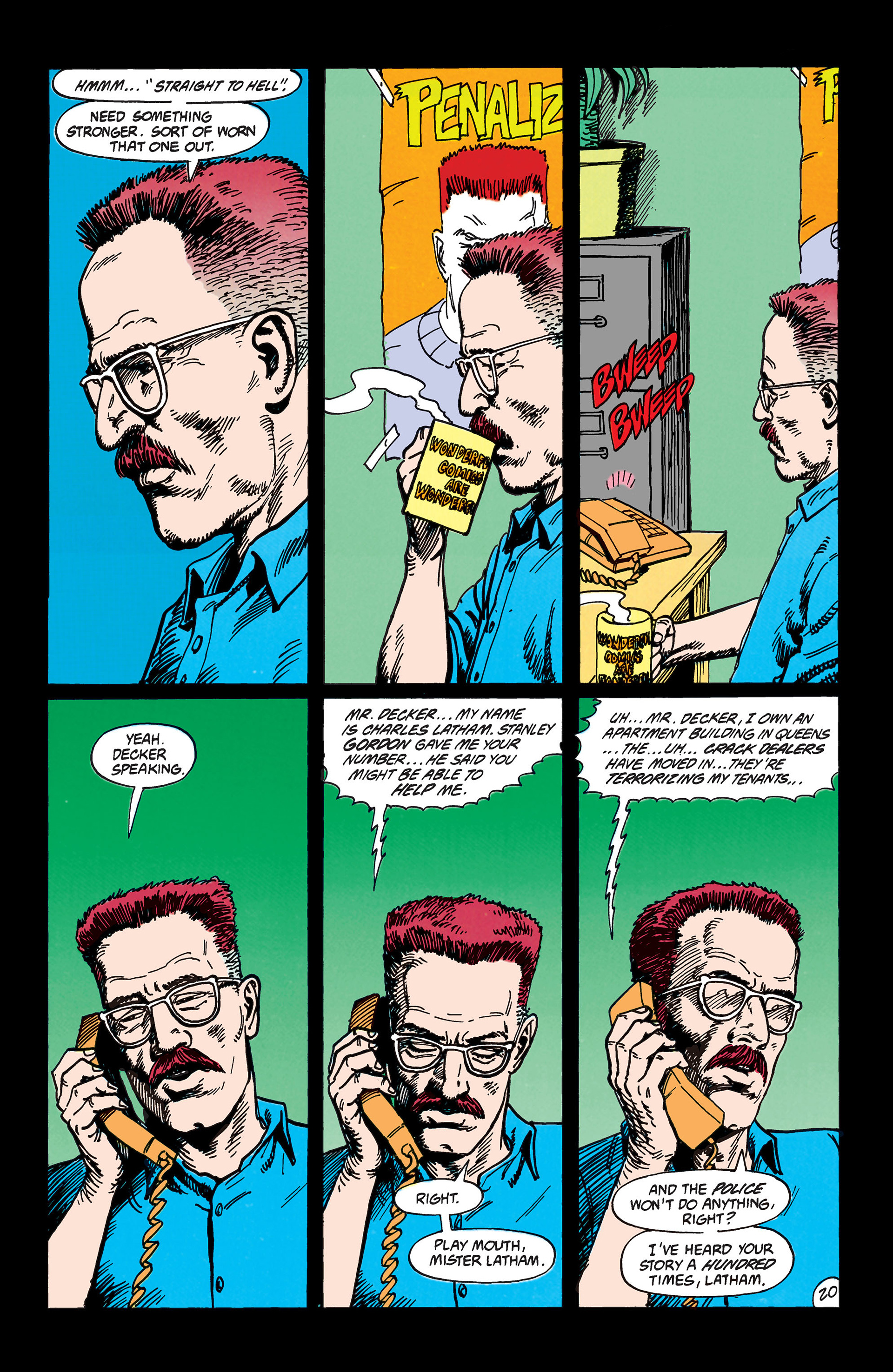 Read online Animal Man (1988) comic -  Issue #45 - 21