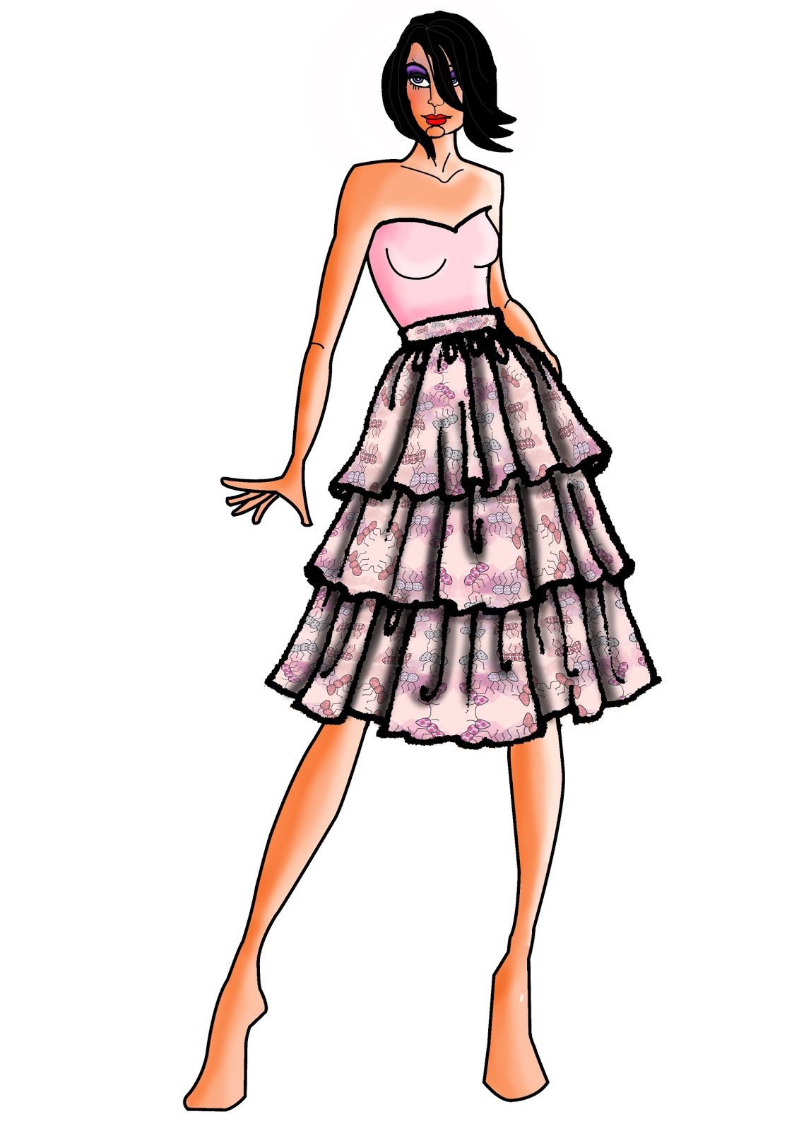 Fashion Figures: Mimimi: Rendering Fashion Figures