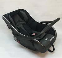 Babydoes BD402 Infant Car Seat Group 0+ (0 - 13kg) - Black