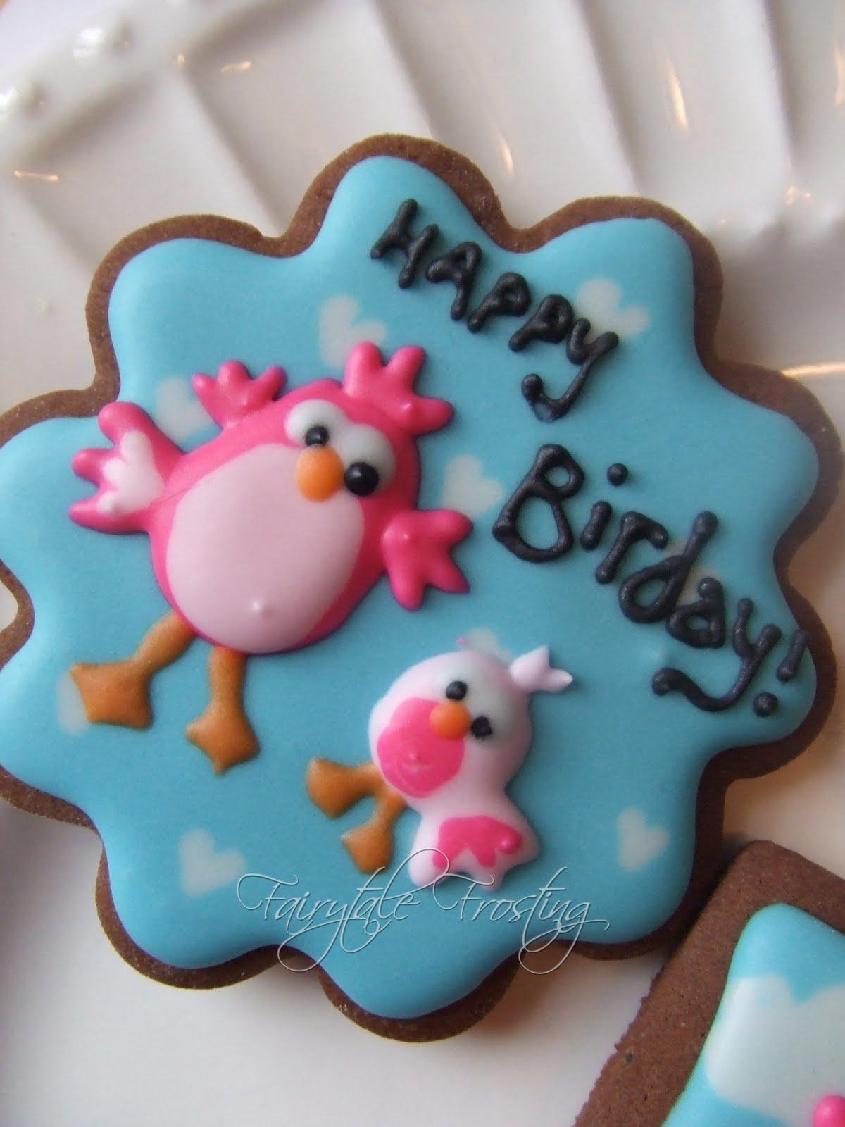 Fairytale Frosting Happy Birday