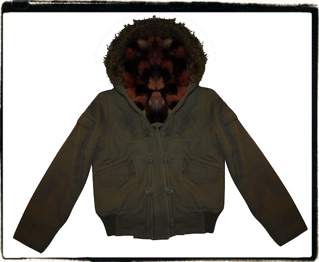 DIY MR & MRS FURS Multi-coloured Fur Lined Parka