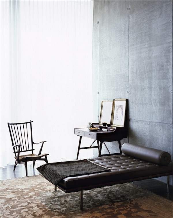 Day bed Barcelona Mies van der Rohe chicanddeco