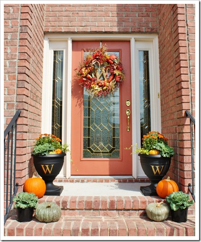 Ideas For Decoration: Fall Porch Decorating Ideas