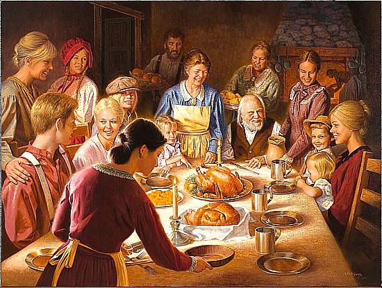 >>>El dia a dia de ayer y de hoy en la pintura>>> - Página 2 Happy_thanksgiving