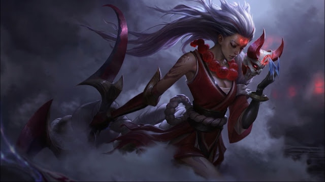 Blood Moon Diana Animated Wallpaper Engine