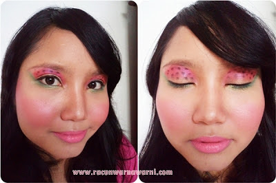 Lipstik Pink dan Make Up Aneh-aneh