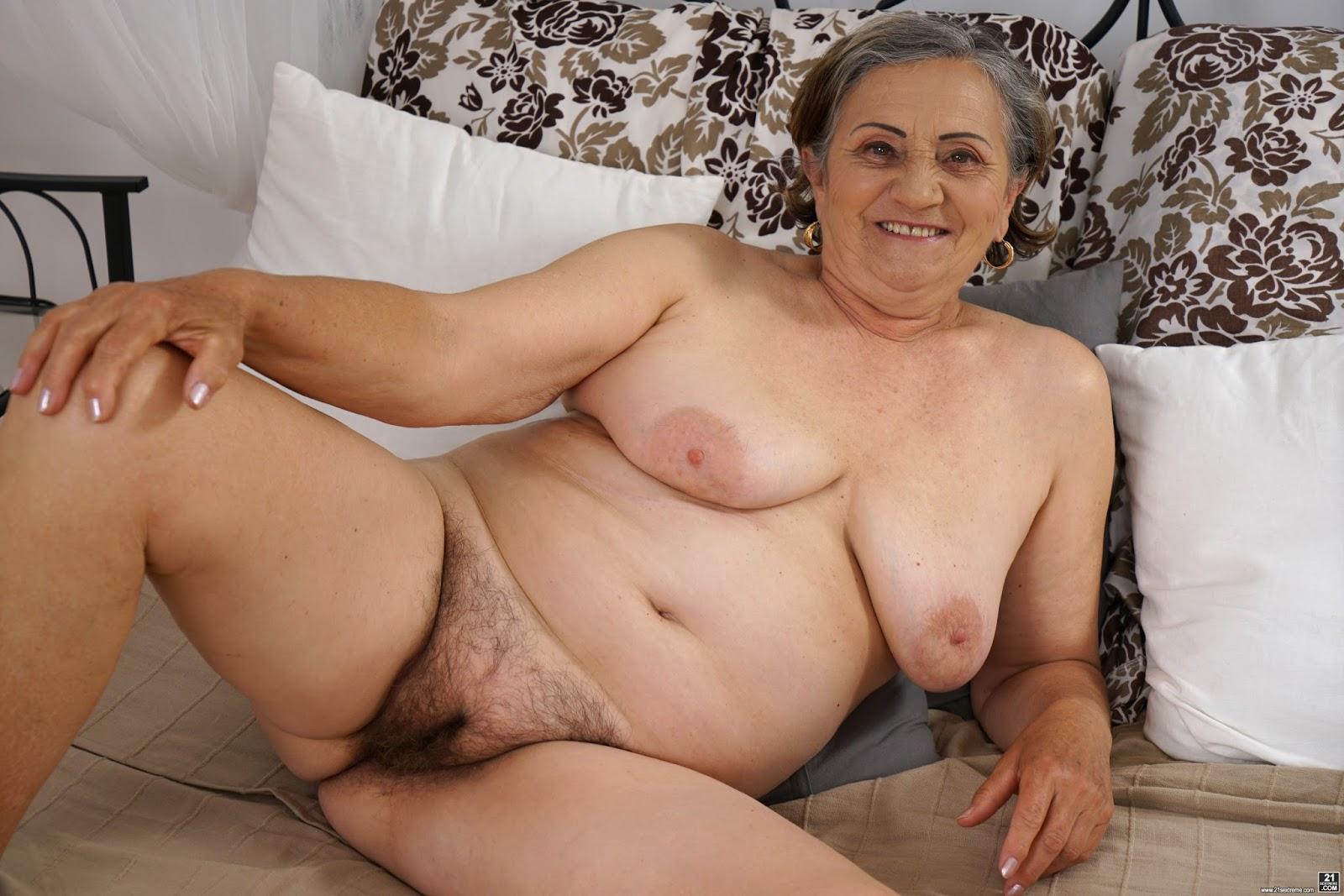 Hairy German Granny Porn