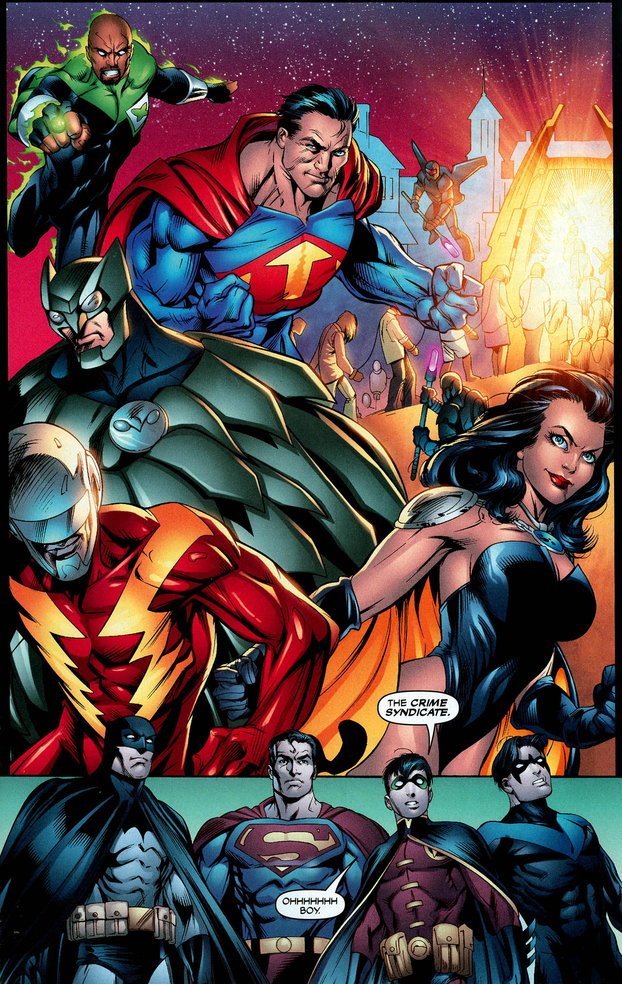 Read online Trinity (2008) comic -  Issue #9 - 17
