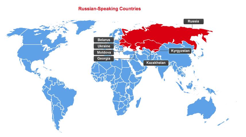 Russian Russian Is Spoken By 33