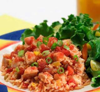 اجمل ارز بالدجاج وصلصه الطماطم