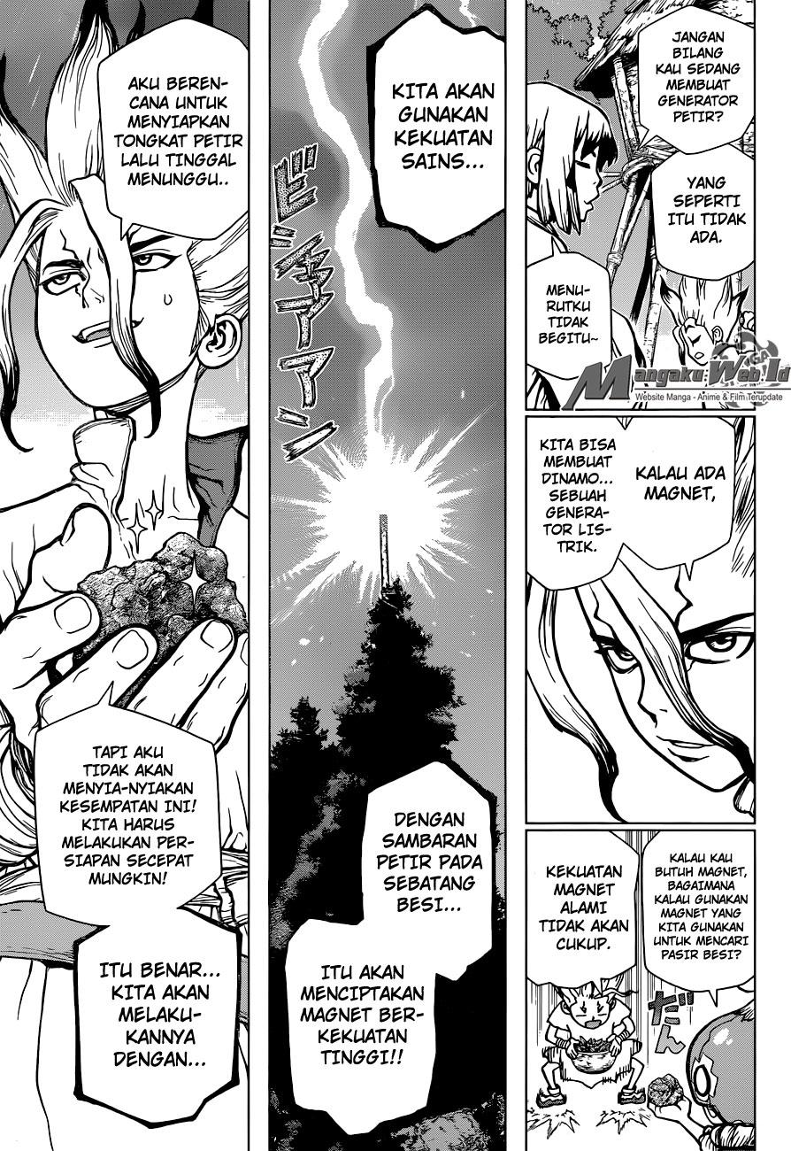 Dr. Stone – Chapter 24 : Kecepatan Cahaya!!