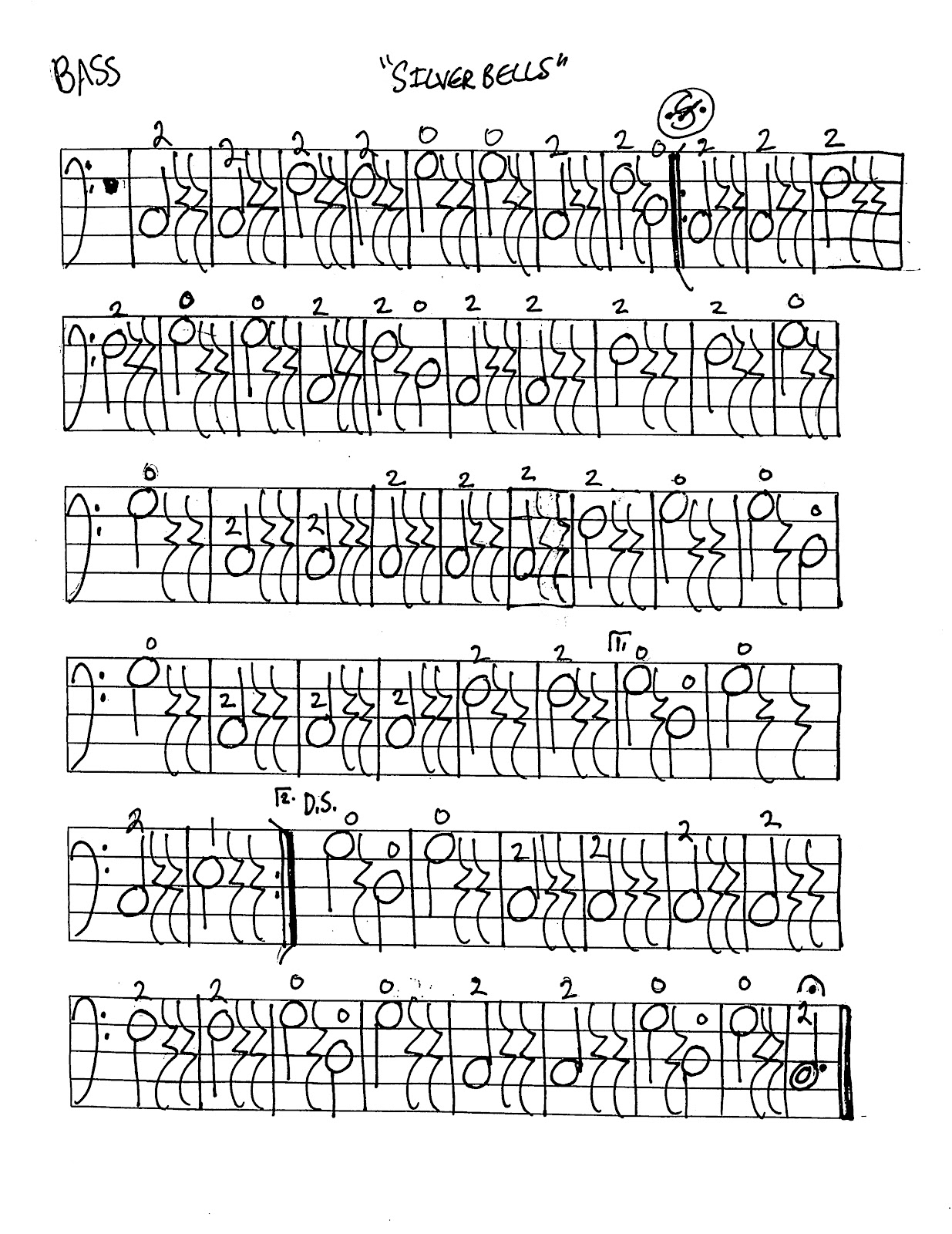 Miss Jacobson S Music Silver Bells Music Worksheets