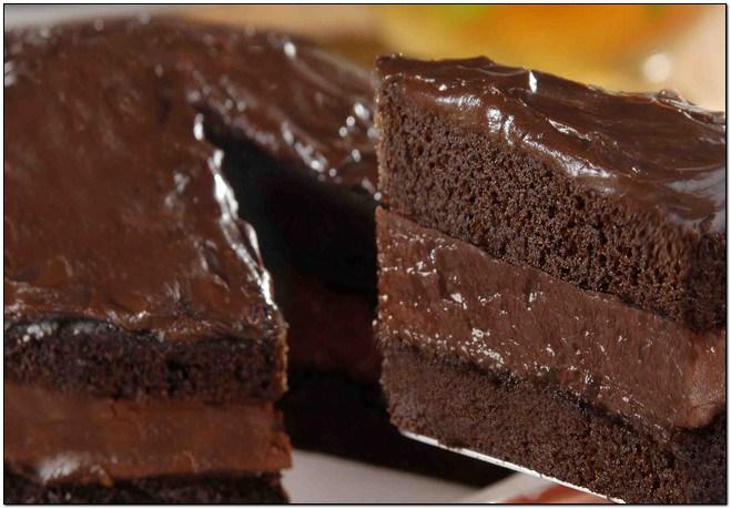 Bolo de Chocolate Aerado