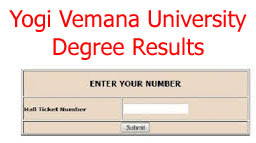 YVU Degree Results