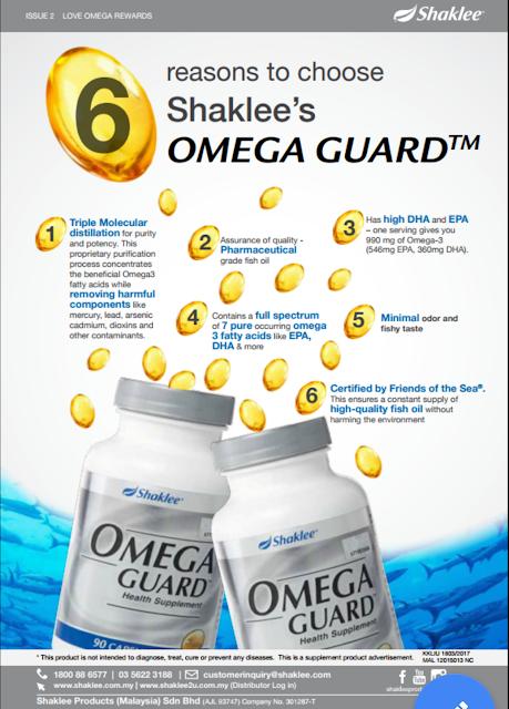keistimewaan omega guard