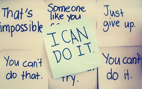 i can do it - do the impossible quotes with inspiration