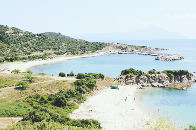 Sithonia camping beaches