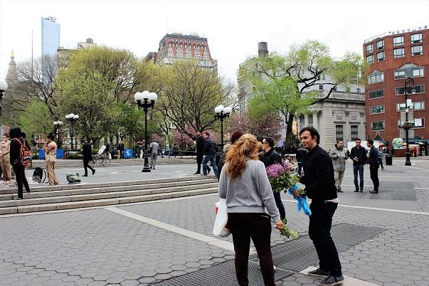 Union Square i New York – dit jag alltid återvänder och varför
