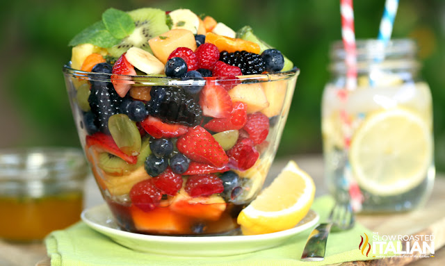 http://www.theslowroasteditalian.com/2014/05/orange-honey-rainbow-fruit-salad-recipe.html