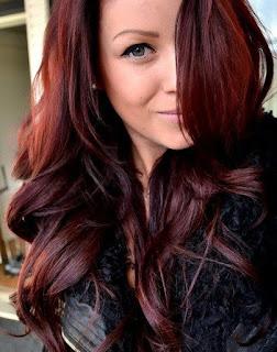 สีผม Burgundy