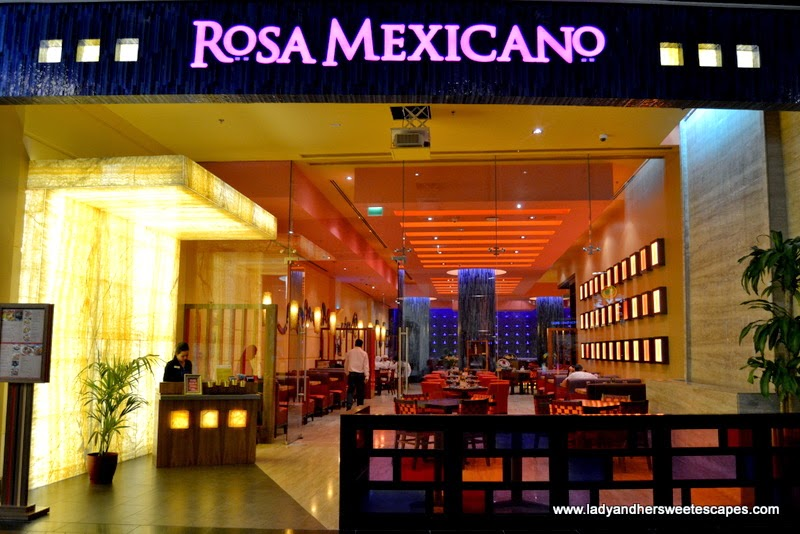 Rosa Mexicano at The Dubai Mall