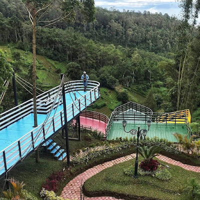 Mbah Djoe Resort wisata terbaru di Magetan