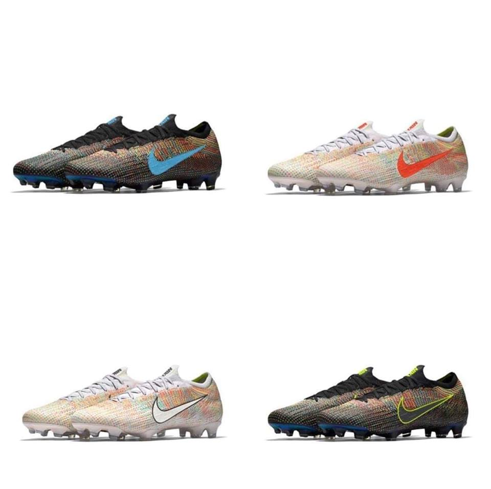 70045f7468 Do you like the multicolor design of the NikeiD Mercurial Vapor 12 football  boots? Share your thoughts in the comments below. Nike ...
