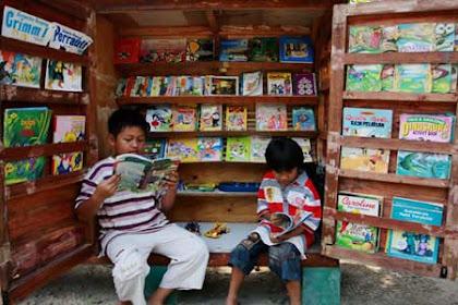 Profil Perpustakaan Desa Taman Pustaka Panggungharjo, Desa Panggungharjo, Bantul Yogyakarta