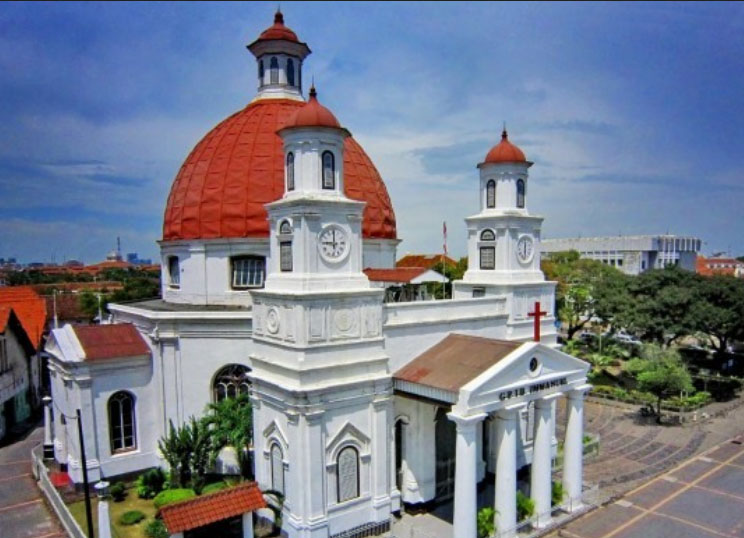 Sejarah Gereja Blenduk Semarang