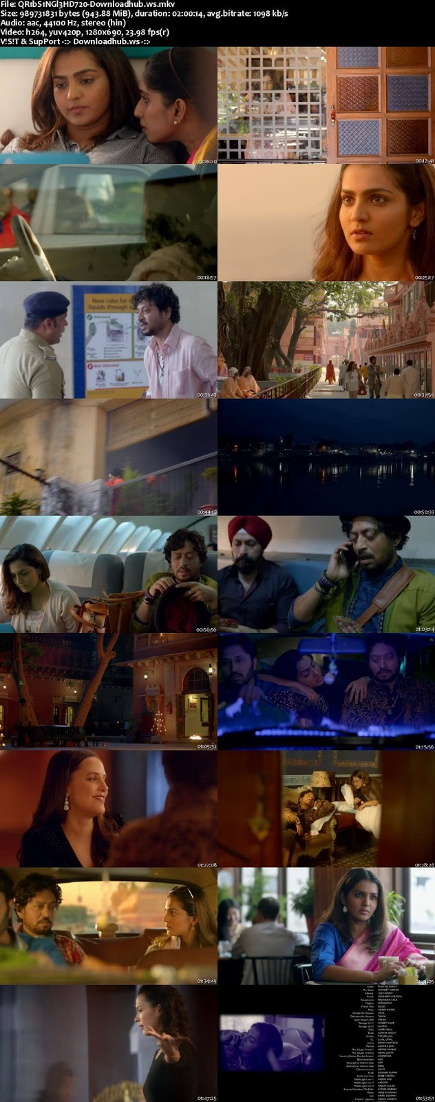 Qarib Qarib Singlle 2017 Hindi 720p HDRip