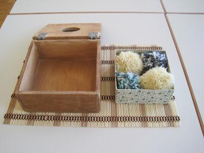 Gioco della scatola dei pon pon - fase 3