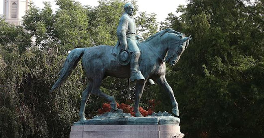 Mayor calls for removal of statue of Confederate Robert Edward Lee, governor rejects request