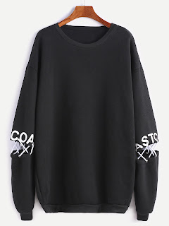 http://es.shein.com/Black-Drop-Shoulder-Letter-Print-Lace-Up-Detail-Sweatshirt-p-332565-cat-1773.html?aff_id=8741