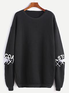 http://es.shein.com/Black-Drop-Shoulder-Letter-Print-Lace-Up-Detail-Sweatshirt-p-332565-cat-1773.html?aff_id=8741