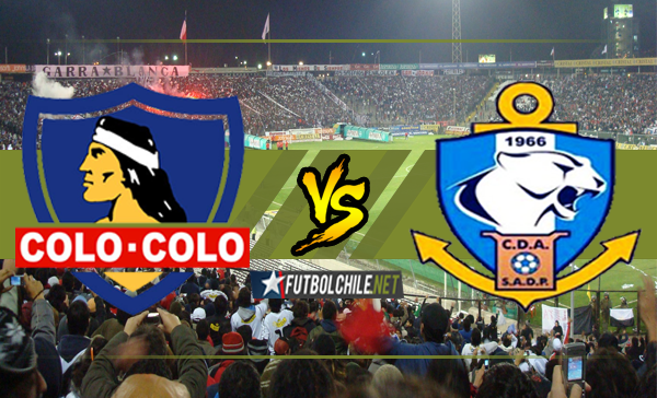 Colo Colo vs  Deportes Antofagasta