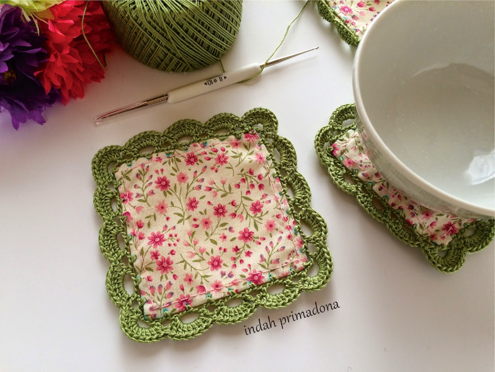 diagram crochet coaster wiring for latching relay craftmee with edging pattern