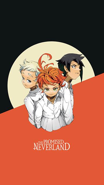 Emma, Norman, Ray - Yakusoku no Neverland Wallpaper